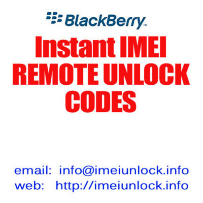 Product picture SURE MOBILE UK BLACKBERRY MEP UNLOCK CODE