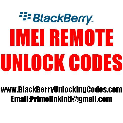 Product picture Imei unlock code  Etisalat United Arab Emirates BlackBerry T